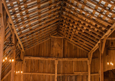 Vaulted Gambrel Roof